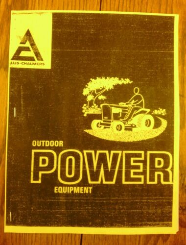 Allis Chalmers service bulletins for 608 610 611 616 special 808 810 811 816