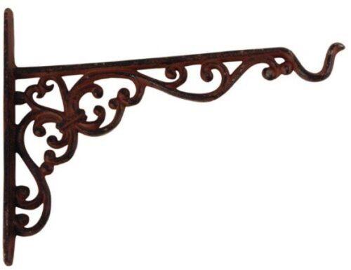 Wandhaken Gusseisen für Blumenampel NEU rustikal - Landhaus - Hanging Basket