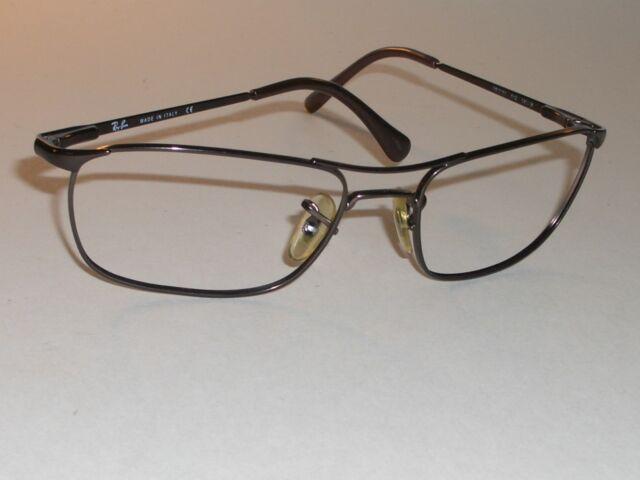 37cc4b4c3fb6 ... discount ray ban rb3132 56 18 brownish chrome flex metal sunglasses  eyeglass frame 5d8c1 89464