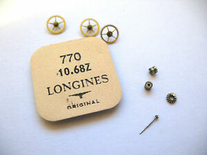 LONGINES-10-68Z-WATCH-MOVEMENT-ASSORTED-PARTS