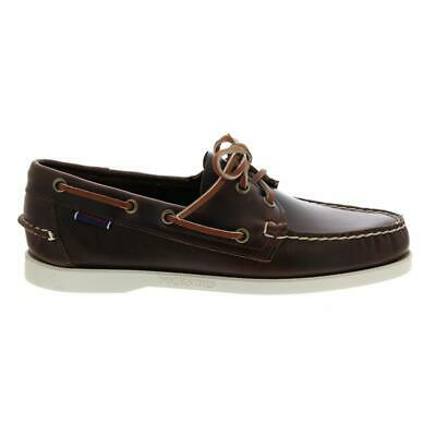 Men 70000g0-900 Gut Sebago Docksides Brown Oiled Waxy Full-grain Leather