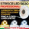 Striscia Led Strip Smd 5630 PRO Epistar LA PIU' ALTA LUMINOSITA' + Kit Accessori