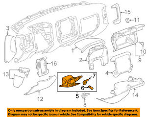 image is loading gm-oem-instrument-panel-dash-compartment-box-84146863