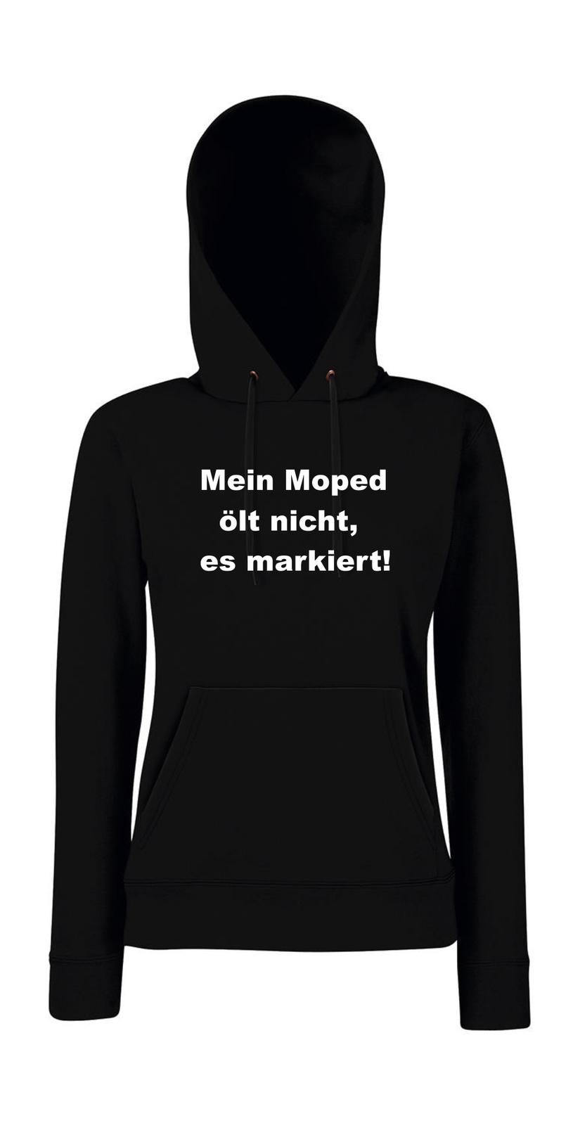 Mein Mein Mein Moped Ölt Non , Es Taggati  i Detto Digreenente Girlie Felpa con Cappuccio 657919
