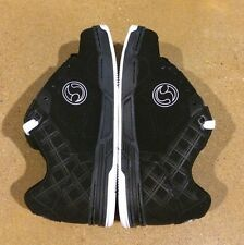 DVS Havoc Size 7.5 Black Nubuck BMX DC MOTO Skate Shoes Militia Transom Comanche