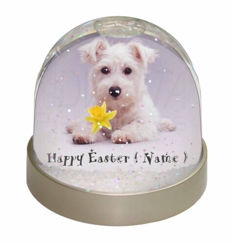 Personalised Name Westie Photo Snow Globe Waterball Stocking Filler , ADW7DA2GL