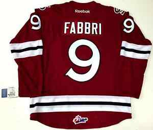 reputable site f5dc2 59235 Details about ROBBY FABBRI GUELPH STORM OHL REEBOK PREMIER JERSEY NEW WITH  TAGS ST LOUIS BLUES