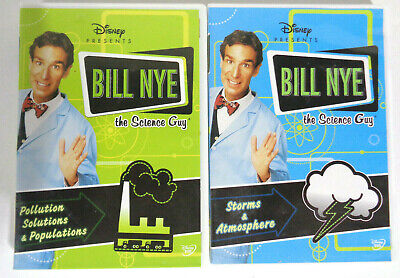 Bill Nye The Science Guy DVD Lot: Storms & Atmosphere ...