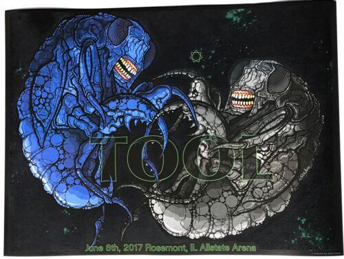 keenan Tool concert poster rosemont 6//8 2017 allstate arena 522//600  maynard j