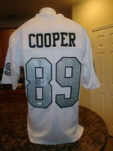 half off af827 0adf8 Details about Amari Cooper Raiders Autographed Color Rush Football Jersey  JSA