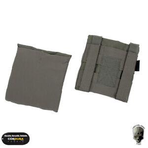 TMC JPC Side Plate Pouch Set For Tactical Vest MOLLE Armor Carrier 2PCS Hunting