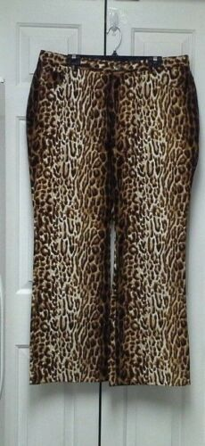 Full Legs Lewis 20 Luxuries Terry Classic Size Bootcut Plus Jeans Animal Print qX4IwZ