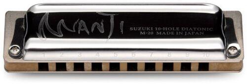 SUZUKI MANJI Armonica M-20 chiave di F 10 FORI