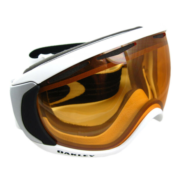 a7af81b6658 Oakley Canopy Matte White With Persimmon Lens Ski Goggles for sale ...