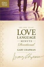 The One Year Love Language Minute Devotional by Gary Chapman (2009, Paperback)