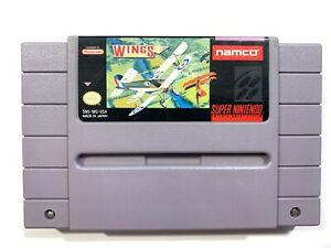 Wings-2-Aces-High-SUPER-NINTENDO-SNES-Game-Tested-Working-amp-Authentic
