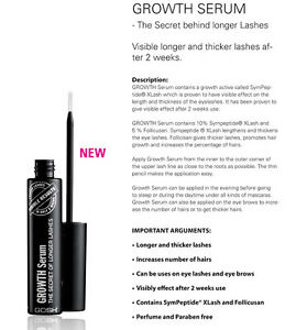 85cd2ff01ad Details about GOSH The Secret Of Longer Lashes Eyelash Growth Serum NEW  Revitalash Prolash FEG