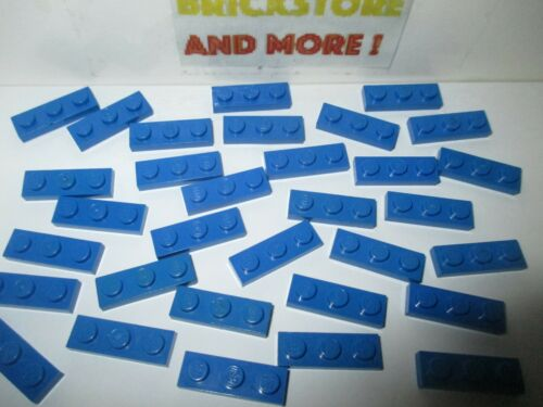 Choose Quantity x2 Lego Plaque Plate 1x3 3x1 3623 Bleu//Blue x40