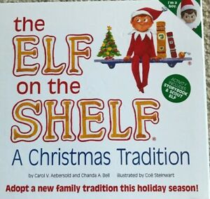 The Elf on the Shelf Storybook Plush NEW Christmas Gift