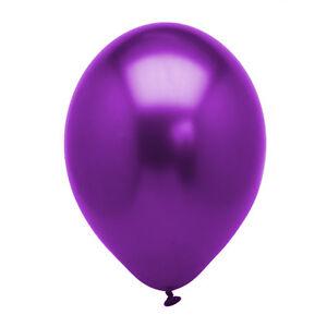 Purple-Metallic-12-034-Latex-Balloons-Birthday-Wedding-Anniversary