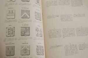 DE RENESSE-DICTIONNAIRE DES FIGURES HERALDIQUES T1-FASCICULE 3- PLANCHE 1893 - France - DE RENESSE-DICTIONNAIRE DES FIGURES HERALDIQUES T1-FASCICULE 3- PLANCHE 1893 - France