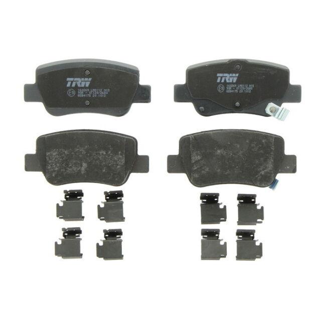 4x TRW Bremsbeläge vorne für TOYOTA PROACE GDB1718 Mister Auto Autoteile