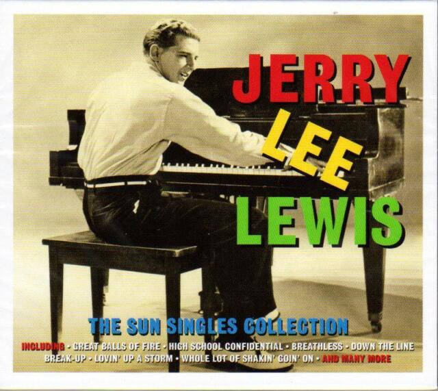 JERRY LEE LEWIS -  THE SUN SINGLES COLLECTION (NEW SEALED 2CD)