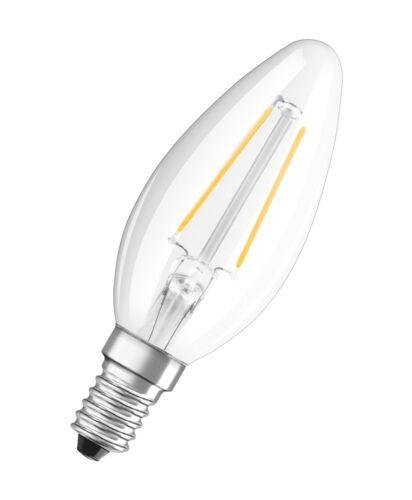 Osram DEL Star b25 e14 Filament DEL Bougies Lampe 2.5 W Cool White 4000k comme 25 W