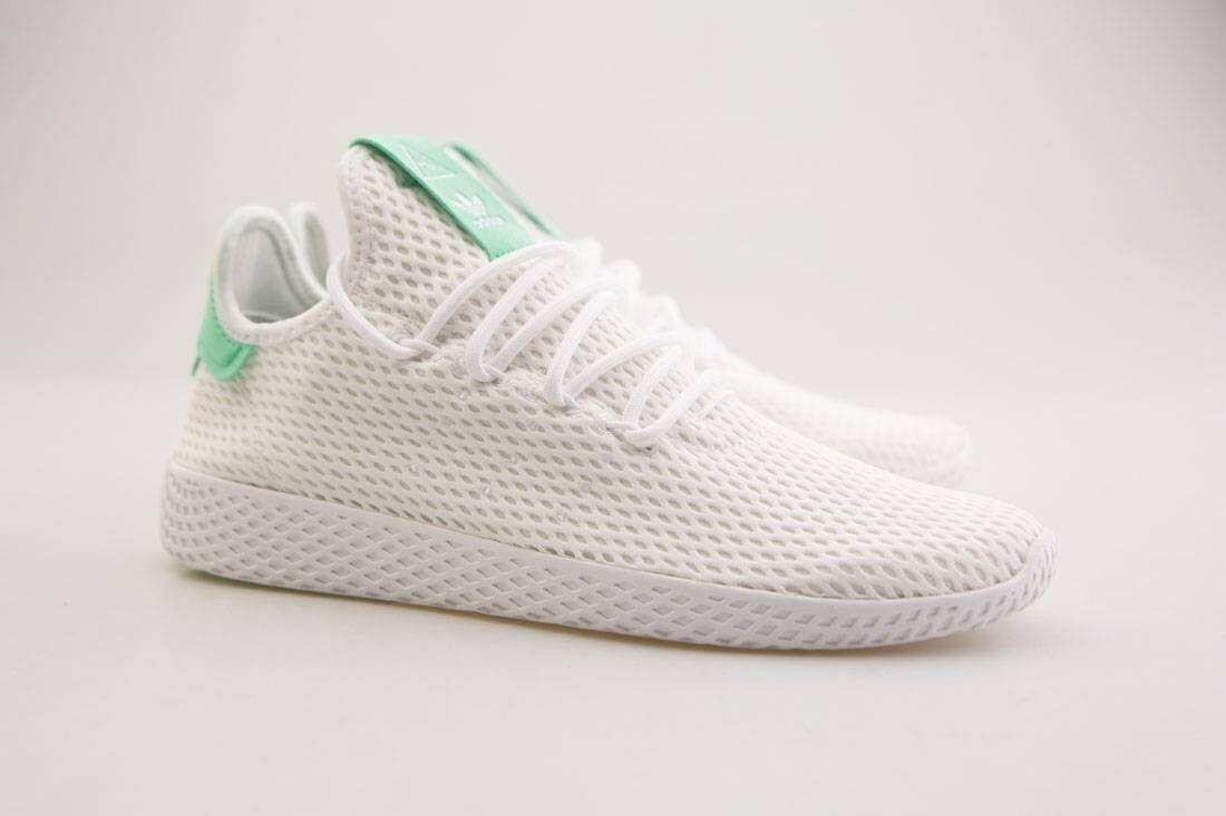By8717 adidas x pharrell williams uomini bagliore tennis hu bianco (bianco bagliore uomini verde 42d215
