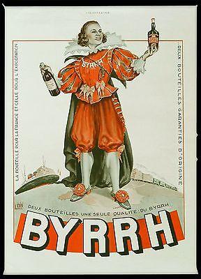 1936 Publicite Poster Art Deco Advertisement BYRRH French Signed Georges Léonnec