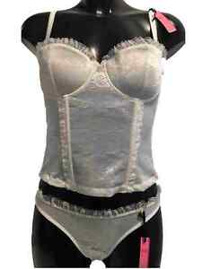 EX STORE AMOUR MULTIWAY IVORY BASQUE UNDERWIRED