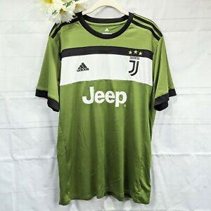 Details about Adidas Juventus Men's Emerald Green Black & White #16 Climacool Jersey Size XL