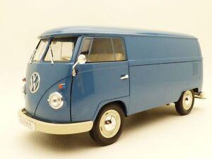 VW-COMBI-T1-tole-utilitaire-bleu-1-18-bus-panel-van