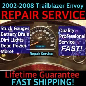 Image Is Loading 2004 Gm Trailblazer Envoy Sdometer Gauge Cer Repair