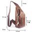 Men-Genuine-Leather-Chest-Back-Pack-Shoulder-Crossbody-Messenger-Sling-Sport-Bag thumbnail 6