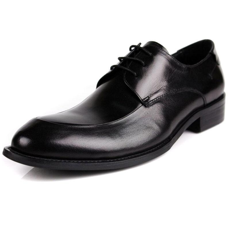 acquisto limitato New Uomo Real Leather Dress Formal scarpe Lace Lace Lace Up nero Marrone C1756  disegni esclusivi