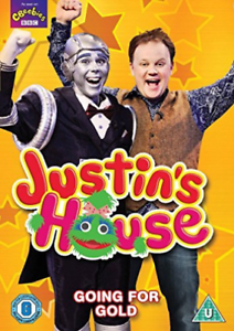 JUSTIN-S-HOUSE-GOING-FOR-GOLD-DVD-NUOVO