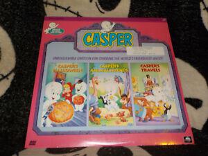 Casper-Volume-2-Nuovo-Sigillato-Laserdisc-Ld-Halloween-Animal-Friends