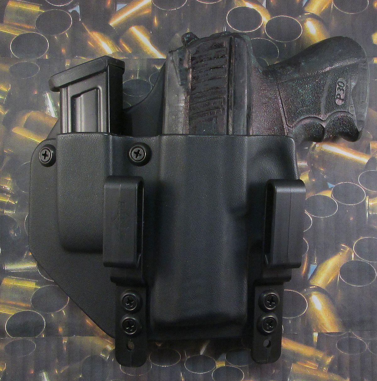 Hunt listo Fundas  H&K P30 SK LH IWB Combo Funda Pistola Con Soporte Extra Mag