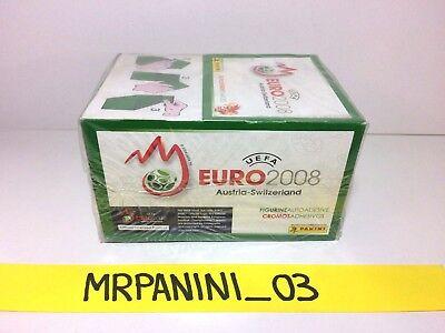 BOX da 100 Pacchetti Figurine-stickers EURO 2012 Panini