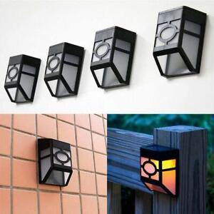 Waterproof-Retro-Solar-Powered-Wall-Mount-LED-Garden-Path-Fence-Yard-Lamp-Nice