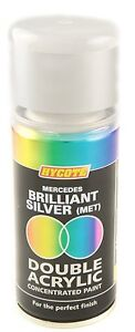 Mercedes Brilliant Silver Spray Paint