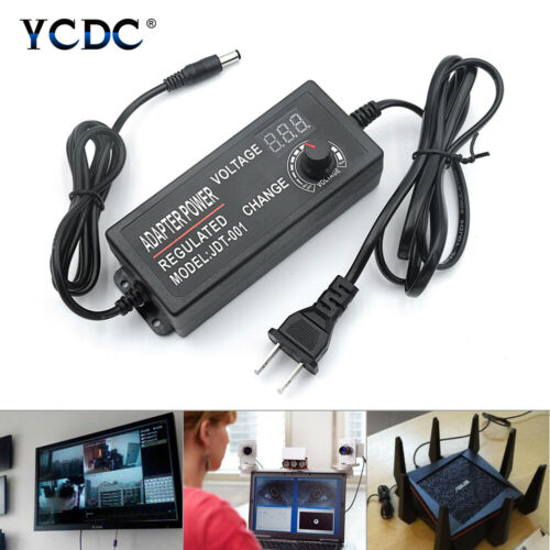 Universal AC//DC Adapter Multi-Voltage Regulated Power Supply 1-24V 3-12V 9-24V