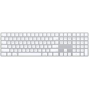 Apple Magic Wireless Keyboard with Numeric Pad US English - Silver ((MQ052LL/A)