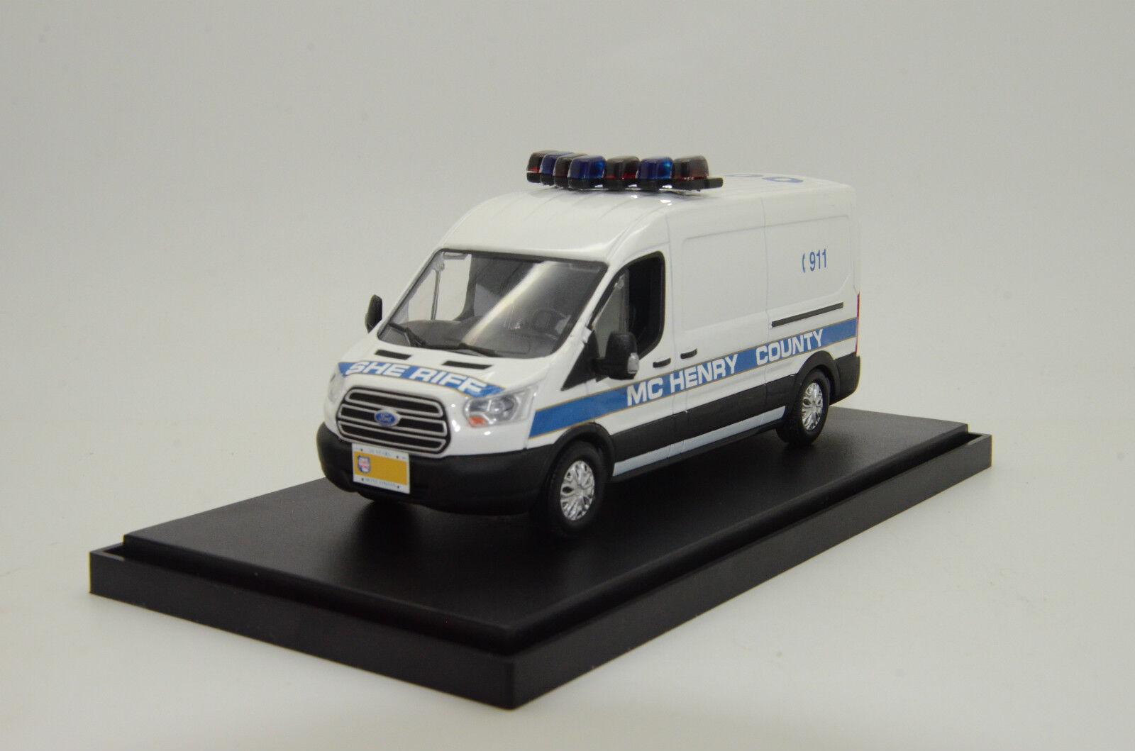 rara    Ford Transit condado de McHenry Sheriff Policía Hecho a Medida 1 43