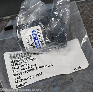 FILTERCHEM FC-VR-50 1/2 PVC VACUUM RELEASE VALVE FC-VR-50V 4820-01-526-6955
