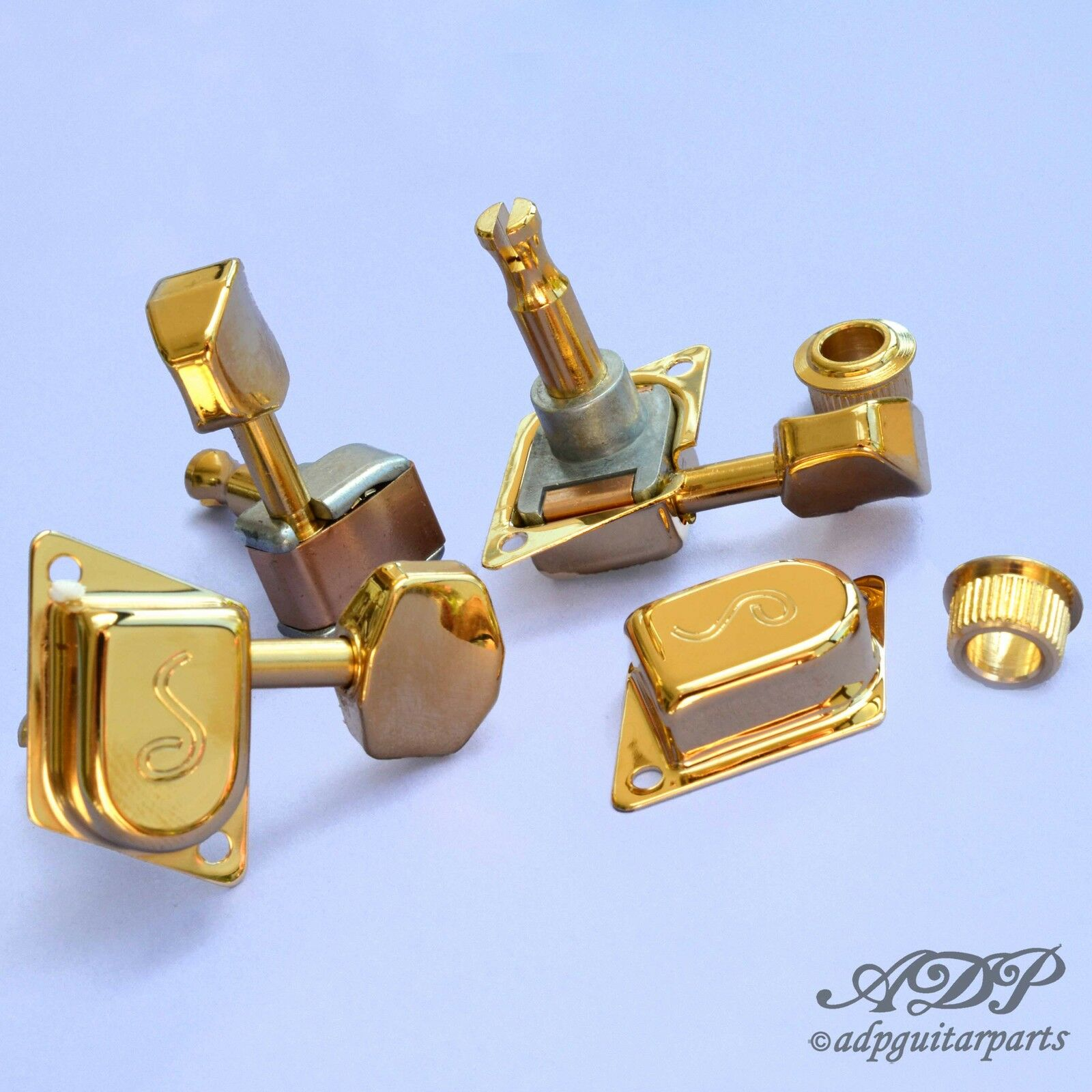 Mecaniques Schaller Vintage Original F-Series 70's 6L Tuner Gold 10130120