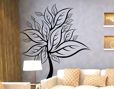 Adesivi murali alberi decorazione pareti foglie adesivi da for Adesivi da attaccare al muro