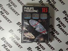 GUERRE LASER GIOCO NUMERO 18 - PHILIPS VIDEOPAC VIDEO PAC BOXATO BOXED COMPLETO