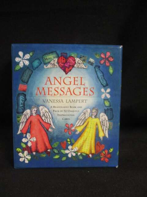 (Very G)Angel Messages; Heaven-Sent Book & Pack of 52, Vanessa Lamp, 2001, 97819